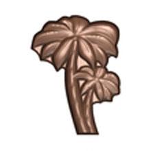 Moule chocolat palmier