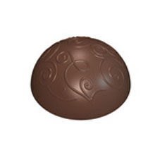 Half-Sphere Praline with Filigree Motif
