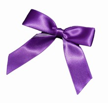 Violet bows