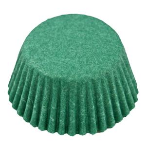 Caissettes vert foncé (1000u.)