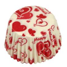 Valentine candy cups (1000u.)
