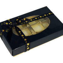 Rectangular Box 1 / 2lb, Black