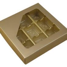 Boîte 1/2lb carré, Platine