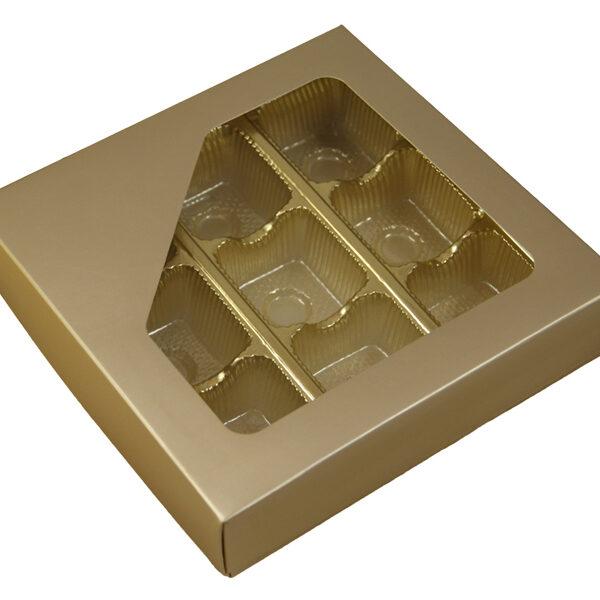 Platinum 1/2lb square box