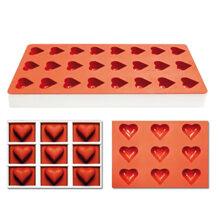 Jellyflex hearts, on frame