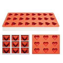 Coeurs Jellyflex, , sur cadre