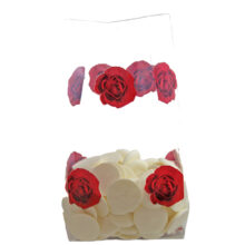 Valentine's Cello Bag with Red Roses