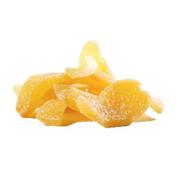 Pièces de gingembre confites