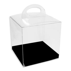 Boîte crystal 1, avec fond de carton réversible (50) (500)