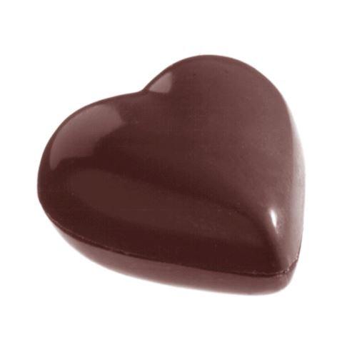 Moule double chocolat coeur
