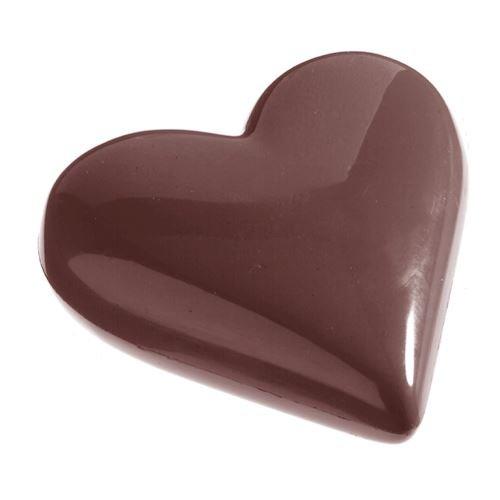 Moule chocolat double coeur 80mm