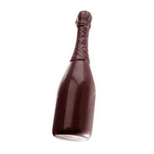 Double Chocolate Mold Champagne Bottle