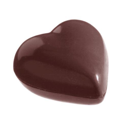 Moule chocolat double coeur