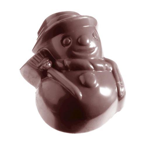Moule chocolat bonhomme de neige