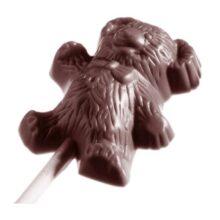 Teddy Bear Lollipop Chocolate Mold