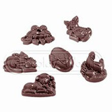 Assorted Easter Chocolat Molds
