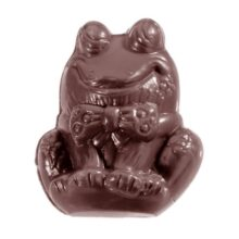 Frog in a Bowtie Double Chocolate Mold
