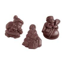 Assorted Christmas Themes Chocolate Mold