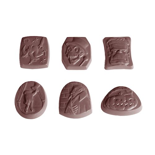 Chocolate Asst Halloween Mold