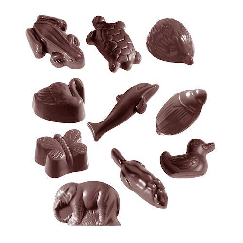 Animal Kingdom Chocolat Mold