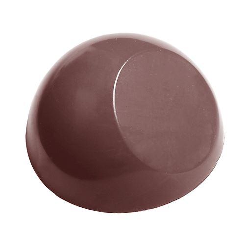 Moule chocolat demi-sphère moderne (27.5mm)
