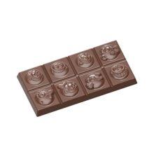 Smiley Face Chocolate Bar Mold