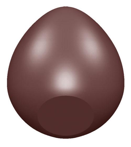 Moule chocolat fond d'oeuf