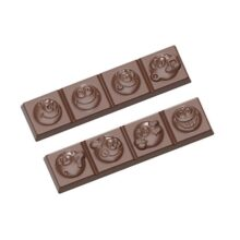 Smiley Chocolate Bar Mold