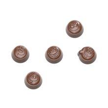 Smiley Bonbons Chocolate Mold