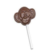 Monkey Lollipop Chocolate Mold