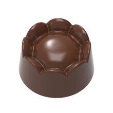 Chocolate Mold Ridged Base