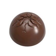 Half-Sphere Chocolate Mold w/Cracked Finish