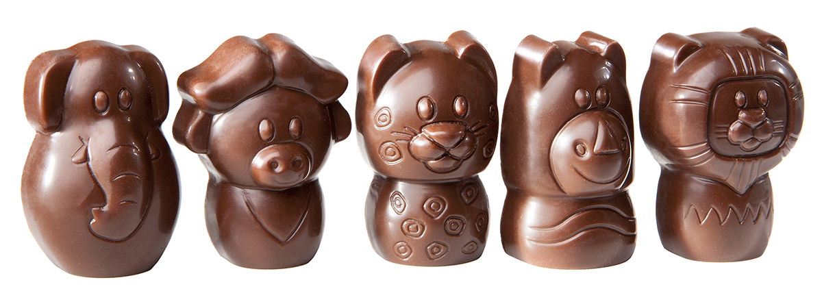 Animal Figurines Chocolat Mold