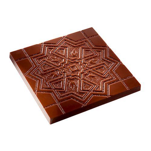 Moule chocolat tablette carré