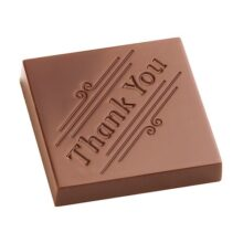 """""""Thank You"""" Square Chocolate Mold"""