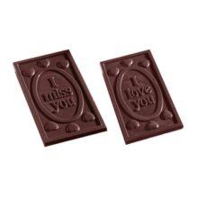 'I Love You' 'I Miss You' Chocolate Mold