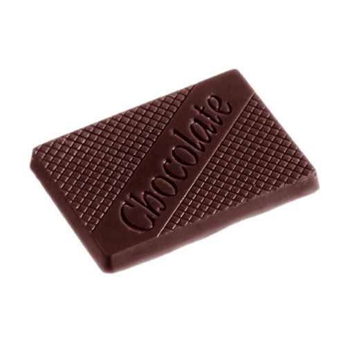 """Moule """"Chocolate"""" caraque rectangulaire"""