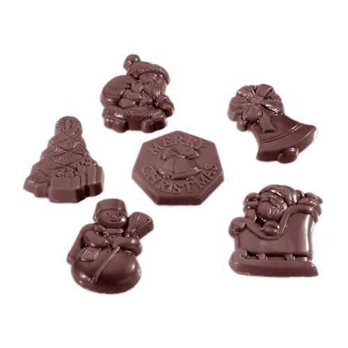 Moule chocolat assortiment Noël