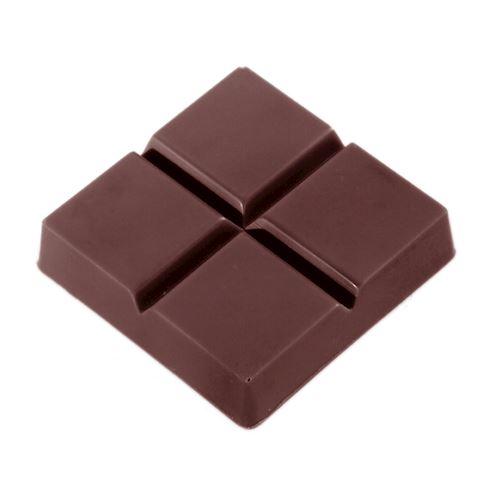 Moule chocolat petite tablette carrée