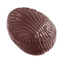 Double Chocolate Mold Textured Egg