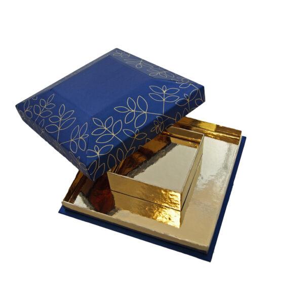 Zambra Pyramid box, two-tier