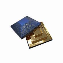 Zambra Pyramid box, three-tier