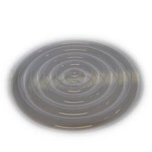 Feuilles texture motif discs concentriques larges