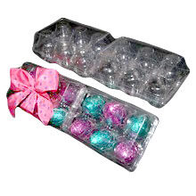 Boîte plastique 2x6 œufs