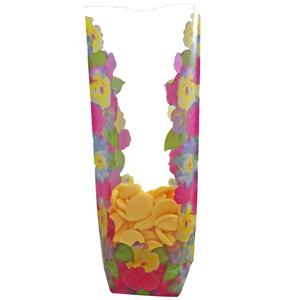 Cello bag Floral print (3s)