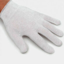 Cotton gloves (12 pairs) LARGE