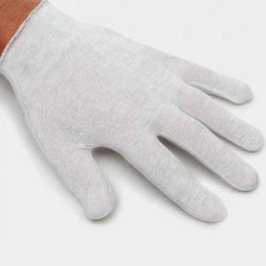 Gants de coton (12 paires) LARGE