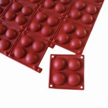 Moule silicone demi sphères amovibles (35mm)