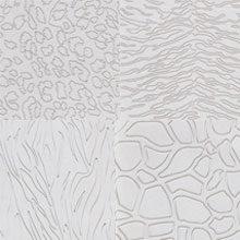 Impression mat, assorted animal motifs