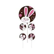 Silly Bunny Lollipop Transfer Sheets